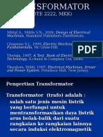 TRANSFORMATOR Pertemuan 2dan3