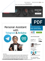 Personal Assistant With Telegram & Arduino