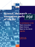 Science Research and Innovation Performance of the Eu 2016