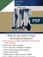 International Finance _Globalization and Multinational Firms_Chap1