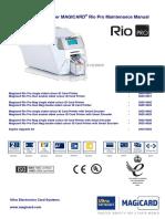RIO Pro Maintenance Manual Iss.1d