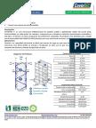 Ficha Técnica Estructura Covintec 3 Pulgadas