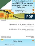 Problemática de Los Pasivos Ambientales Mineros en Colombia