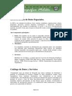 Infraestructura de Datos Espaciales(2)