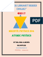 MKENYE PHYSICS S04 PHY-FORM-SIX-Atomic Physics1