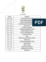 panda pals schedule final