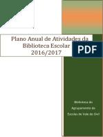 Plano anual de atividades da Biblioteca