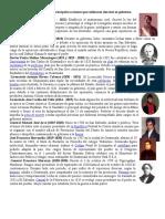 Presidentes de Guatemala y Sus Principales Acciones Que Realizaron Durante Su Gobierno