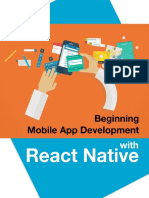 Beginning Mobile App Development With React Native Sample