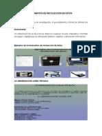 Técnicas e instrumentos de recolección de datos Técnica.docx
