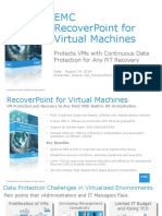 Recoverpoint Vm Customer Presentation