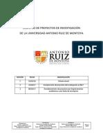 Registro de Proyectos de Investigación (3)