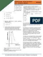 Exercicios de Função Quadratica