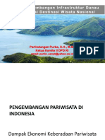 Indotrek 2016Konsep Pengembangan Infrastruktur Danau Toba Sebagai Destinasi Wisata Nasional