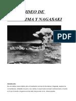 Trabajo Bombardeos Bomba Atomica Hiroshima y Nagaski