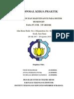 Proposal KP PJB Paiton