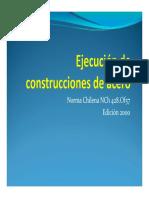 Ejecución de Construcciones de Acero
