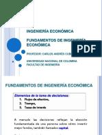 IE0-Fundamentos de Ingenieria Economica