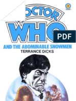 Doctor Who - [Library Order 001] Doctor Who and the Abominable Snowmen