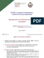 1.- Introducción a Los Sistemas de Control Avanzados (1)