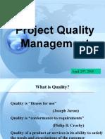 Project Quality Management(1)