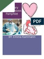 coronary artery bypass pamphlet
