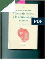 Capítulo 1 - R.murray Schafer