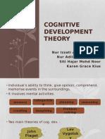 Cognitive Development Theory EDUP3023