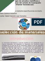Criterio de selección de materiales
