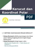 Irisan Kerucut Dan Koordinat Polar