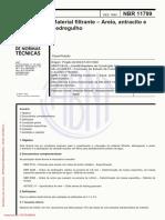 ABNT NBR 11799 Material Filtrante-Areia- Antracito e Pedregulho(Dez 1990) (2)