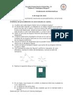Problemario de Matemáticas II