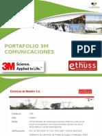 Portafolio Marca 3m Telecomunicaciones