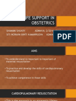 Basic Life Support in Obstetrics