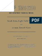 (1943) TM 9-2200 Small Arms, Light Field Mortars and 20-mm Aircraft Guns