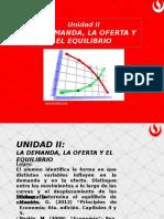 UPN U II - Demanda Oferta y Mercado