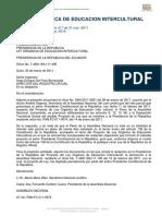 Ley Orgánica de Educación Intercultural del ECUADOR