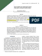 Abordagem Cognitiva Da Compreensão Leitora Implicações Para a Educação e Prática Clínica