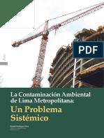 Contaminación en LIMA METROPOLITANA
