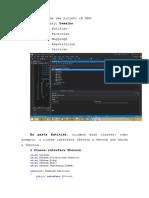 Estrutura Do Projeto C# DDD