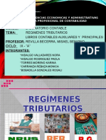 Regimenes Tributarios y Libros Contables Auxiliares y Principales