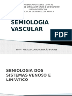 Semiologia Vascular - Venoso e Linfático (1)