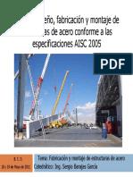 Fabricación y Montaje de Estructuras de Acero Unidades I, II y III