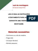 Manual Caixa Prime