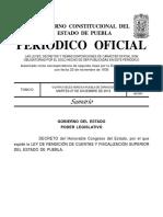Ley Rendicion Cuentas Fiscalizacion Sup Pue 27 Dic 16