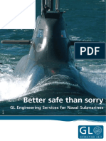 0E036 GL Engineering Services for Submarines
