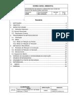 Controle e Monitoramento de Ruídos e Vibrações Nas Fases de Instalação e de Operação e Em Recepto