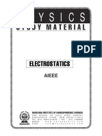 28893029 AIEEE Class XII 01 Phy Electrostatics
