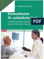 Kommunikation Fur Auslandische Arzte - Unbekannt