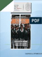 Ruta de Mejora Escolar 2015-2016